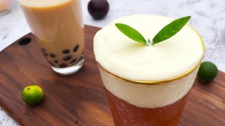 自制香浓的珍珠奶茶, 珍珠Q弹又健康, 热量低还不发胖