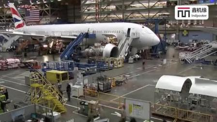 看波音787-9制造全过程, 这才是真正的先进技术