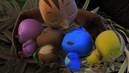 《萌鸡小队》美佳妈妈哄萌鸡小队睡觉, 大宇哥哥做了一个神奇的梦