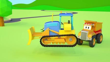 小汽车儿童动画英文儿歌幼儿教育系列(十三)
