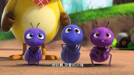 《萌鸡小队》美佳妈妈来了, 小麦奇: 妈妈, 麦奇好想你了