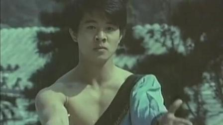 李连杰青少年时期珍贵生活影像