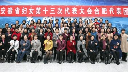 安徽妇女十三大合肥代表团祝福视频