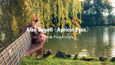 Alan Gogoll 《Apricot Eyes》 吉他指弹 / Fingerstyle演奏 | aNueNue彩虹人