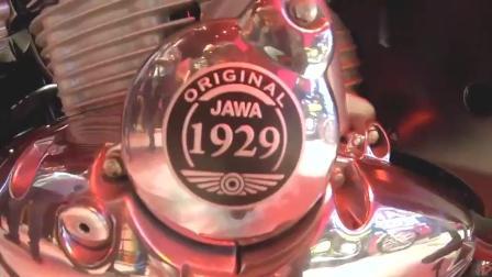 JAWA摩托车, 车展展示