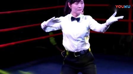 女裁判表演陈氏太极拳、原来是高手