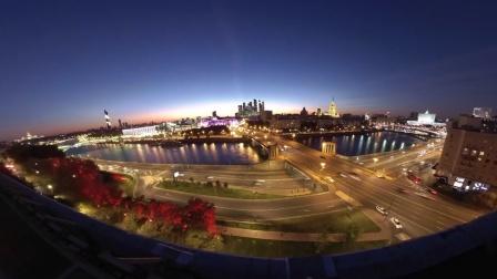 一起欣赏莫斯科的日出日落