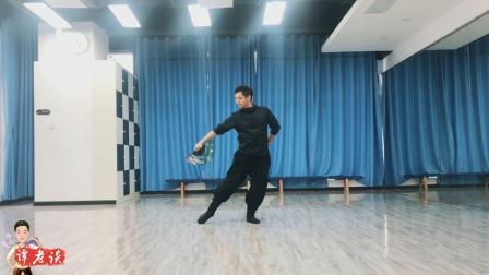 刘老师的古典舞《青花瓷》教学示范, 很适合中老年舞者