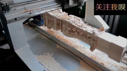 数控加工雕花柱, 这技术堪称完美!