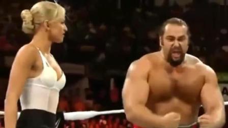 WWE: 卢瑟夫与拉娜恩断义绝, 指使他人对拉娜使用蹲坑锁