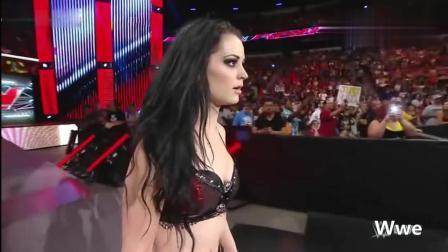 WWE女子相斗, AJ李趁机搞乱, 让人无语