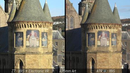 Nikon Z7 vs Sony A7R III - 4K 视频对比