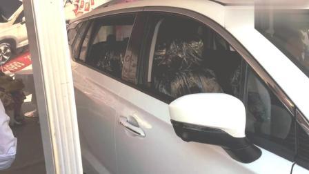 车展体验: 最新款18款传祺GS4, 内饰档次高级了, 大气舒适