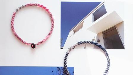 S1301-撞色小清新情侣手绳