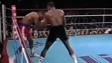 泰森与霍利菲尔德, 最佳进攻的一瞬间对比! 泰森是拳击之王!