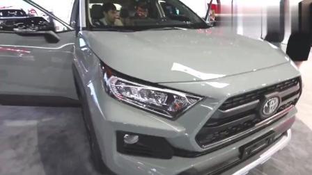 改款后比CR-V更具竞争力! 洛杉矶车展体验全新丰田RAV4