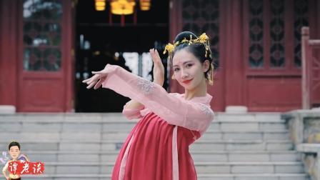 古典舞《丽人行》, 虽不是专业, 但无论服装发饰等细节都好用心
