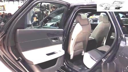2019款捷豹XF车展实拍, 看完再说想不想买