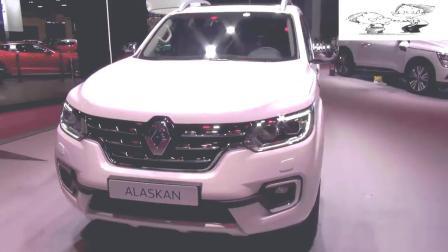 2019款雷诺Alaskan车展实拍, 体验下法式皮卡的魅力!