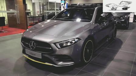2019款美版奔驰A级AMG到店实拍, 看完再说买不买
