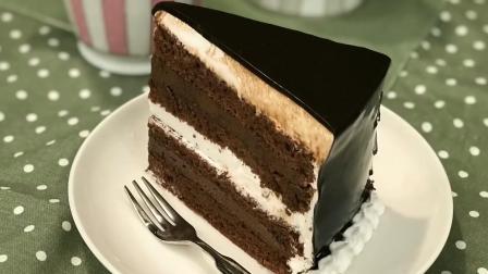 香浓巧克力奶油蛋糕 简单易学教程