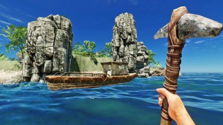 我破拆木船整理资源,沉船上发现了救命纱布