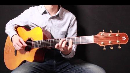 中国好声音版《野花》靠谱吉他蔡宁编配弹唱 修正版 娜塔莎KC4初心