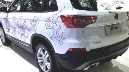 车展体验: 国产气派SUV, 长安CS75来了, 外观硬汉十足, 配1.5T