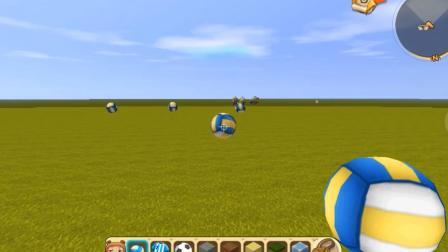 《迷你世界》第四集先遣服更新排球玩法
