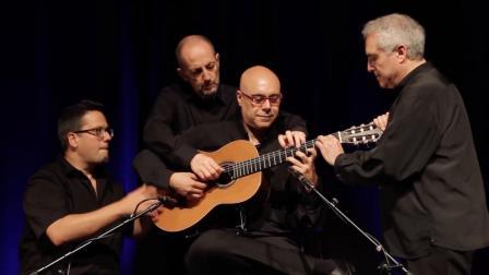 【四个人弹一只吉他是什么个操作! ? 】