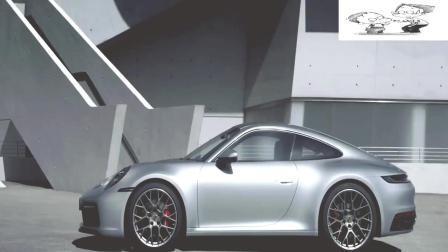 进化版升降跑车尾翼! 保时捷全新911美丽山路赏析! 试驾!
