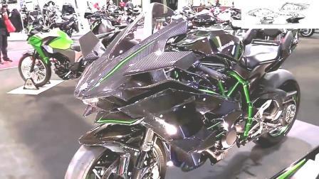 价值72万一辆摩托车, 川崎忍者H2R