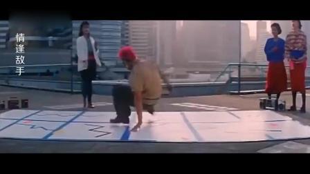 杀马特要和眼镜男斗舞, 中国功夫演绎的舞蹈太精彩了!