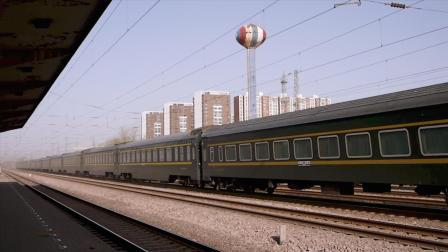 Z205次 Z282次通过黄村站(站内视角)