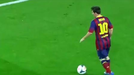 """当今唯一的球王, 梅西重现马拉多纳式的""""单刀赴会"""", 根本防不住啊"""
