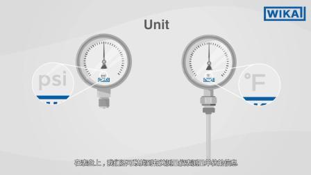 威卡中国:正确读取压力表和温度计 | 需要注意什么?(英文中字)