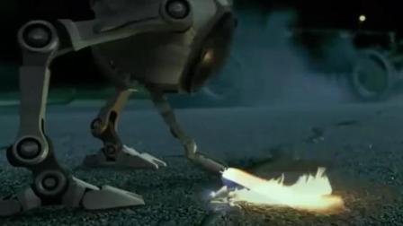 机器人点燃汽油, 想制造意外事故, 烧死知道真相的人!
