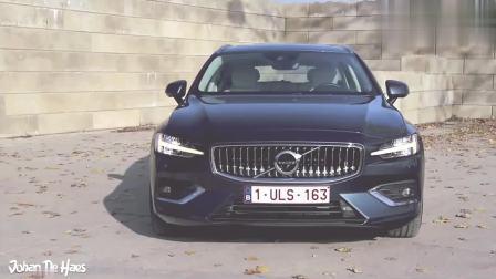第一视角2018沃尔沃V60 T6 AWD 310马力汽车试驾, 好帅!