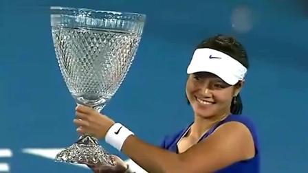 当获得第一个中国网球顶级赛事冠军, 李娜要求用中文致辞!