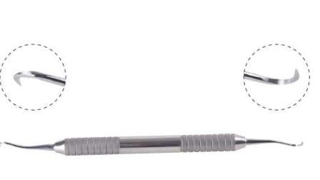 KRUUSE Scaler-字幕-丹麦古氏牙科手工器械系列-牙科刮治器的正确使用