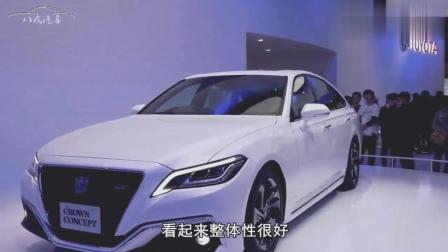 19款丰田皇冠亮相, 售价25万, 2.0T配8AT, 奥迪A6算是碰到对手了