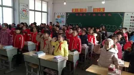 三小学生勿忘国耻 振兴中华 主题班会