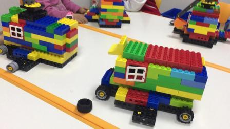 乐高小课堂 汽车模型搭建