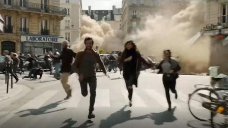 一种致命烟雾淹没巴黎, 吸入就会丧命, 人们只能跑到屋顶避难!