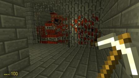 GMOD游戏 迪迦奥特曼被谁锁在TNT炸弹房里面