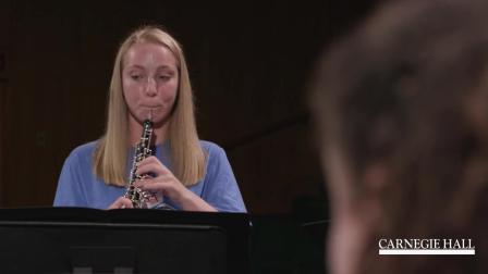 拉威尔《库普兰之墓》前奏曲, 木管五重奏, 美国国家青年管弦乐团