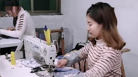 26岁农村打工妹, 在浙江围巾厂上班月入8千, 称: 很想回家