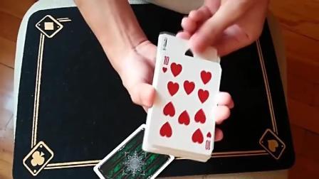 魔术教学: 原理很简单, 但是手法还是要多练习下