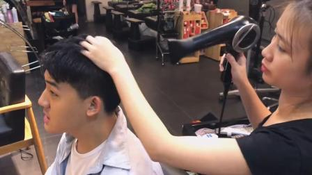 越南头部spa, 体验理发店整套服务, 舒服得不舍离开