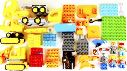 乐高我的建筑工地积木玩具